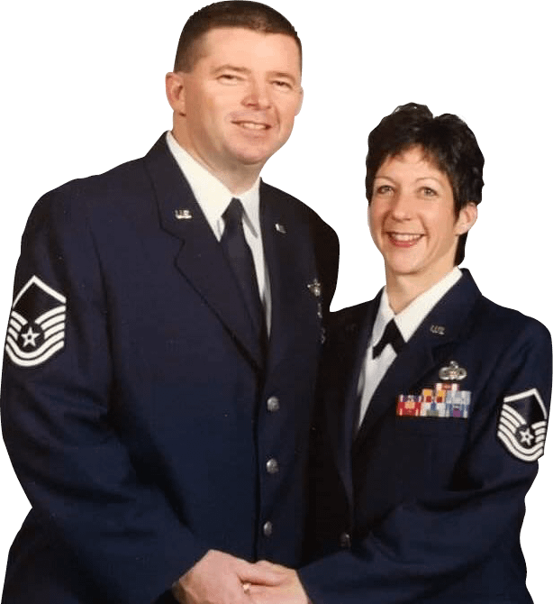 About Us - Jordan & Donna Haines, USAF Ret., COINFORCE Owners & Founders
