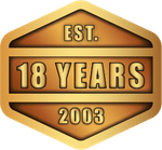 Since 2003 - 18 Years - COINFORCE® - Custom Challenge Coins